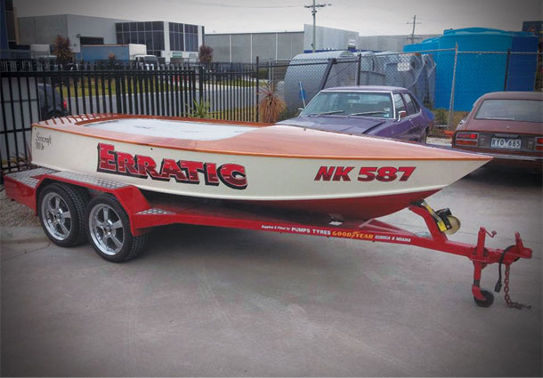 Custom Boat Painting Services at United Panels Pakenham