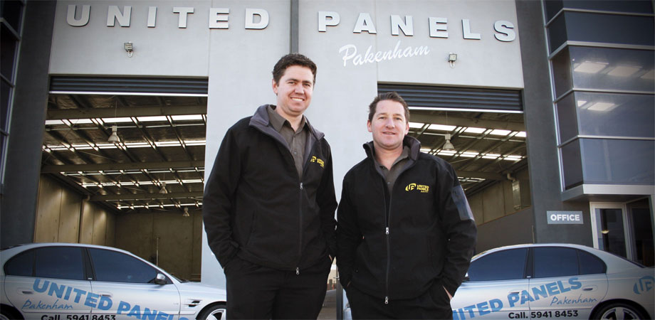 Daniel McCasker and Joshua Bexley - Founders of United Panels Pakenham