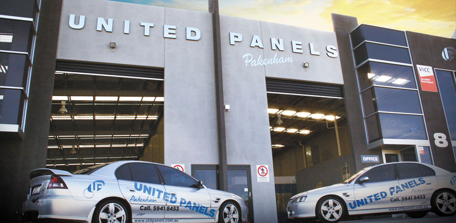 United Panels Pakenham Shopfront