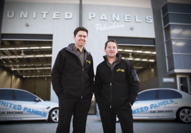 Daniel McCasker and Joshua Bexley - Founding Directors of United Panels Pakenham